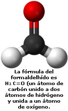 Formoldelhido fórmula