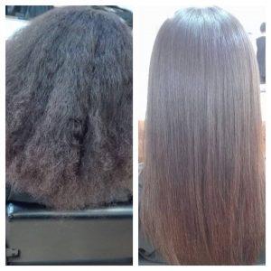 alisado del cabello con keratina