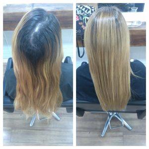 cabello liso tratamiento keratina madrid